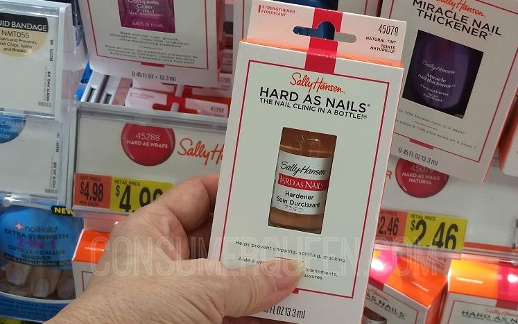 New Sally Hansen Coupons + Walmart Deals (as Low as 46¢!)
