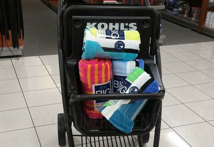 The Big One Beach Towels Only $6.39 (Reg. $19.00) – Thru Today Only at Kohl's