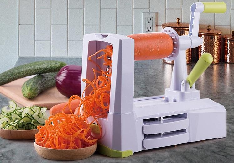 Amazon: Spiralizer 5-Blade Vegetable Slicer $11.99