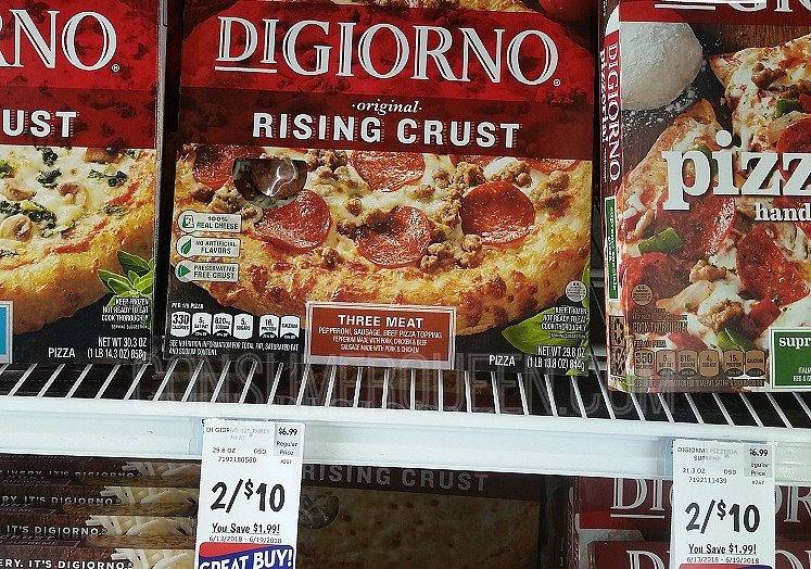 photograph regarding Digiorno Coupons Printable named Yet another $6.00 DiGiorno Coupon + Retail outlet Bargains (as Lower as $2.50
