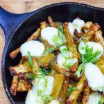 Jicama Poutine Recipe  {Keto friendly/Low Carb}