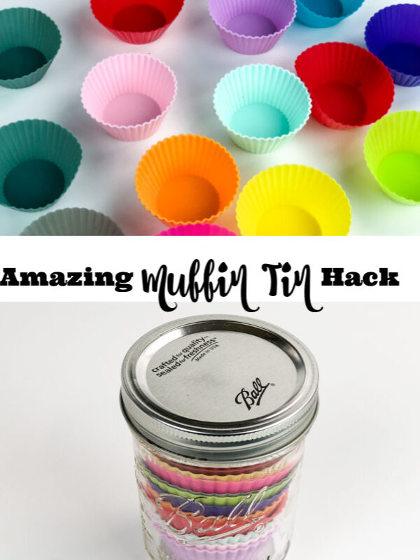 Silicone Muffin Cups Kitchen Hack