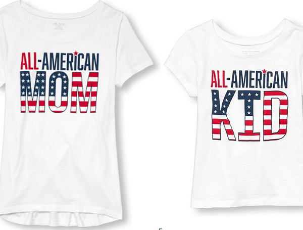 all-american family tees
