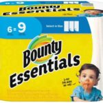Bounty Essentials OR Basic 6-pk Giant Rolls Only $3.24 After Cash Back!