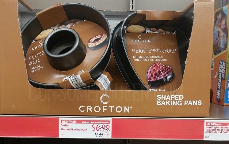 Croftin Baking Pans Backseat Organizers And More At Aldi