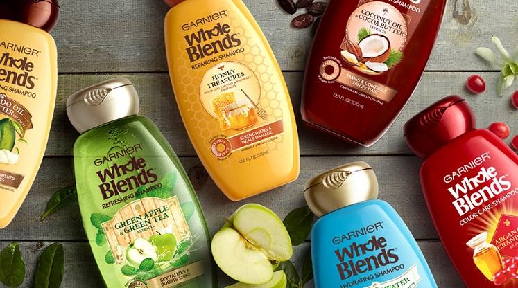FREE Sample of Garnier Whole Blends Shampoo & Conditioner