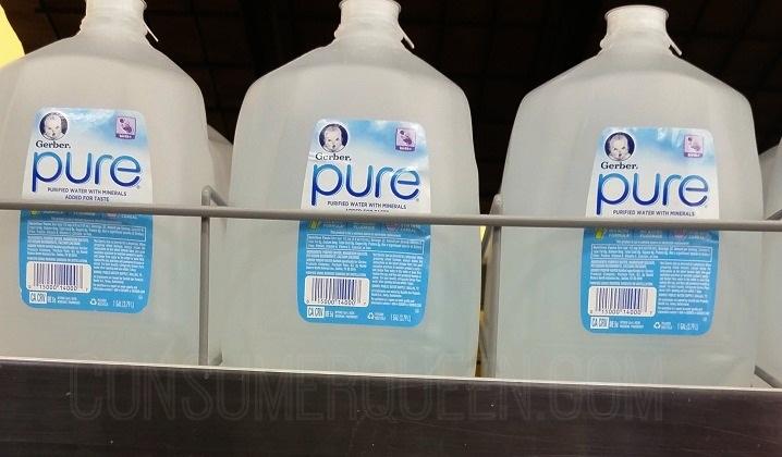 Gerber Pure Water 50¢ per Jug at CVS This Week