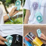 Amazon: Aluan Handheld Mini Fan $7.10 W/Promo Code