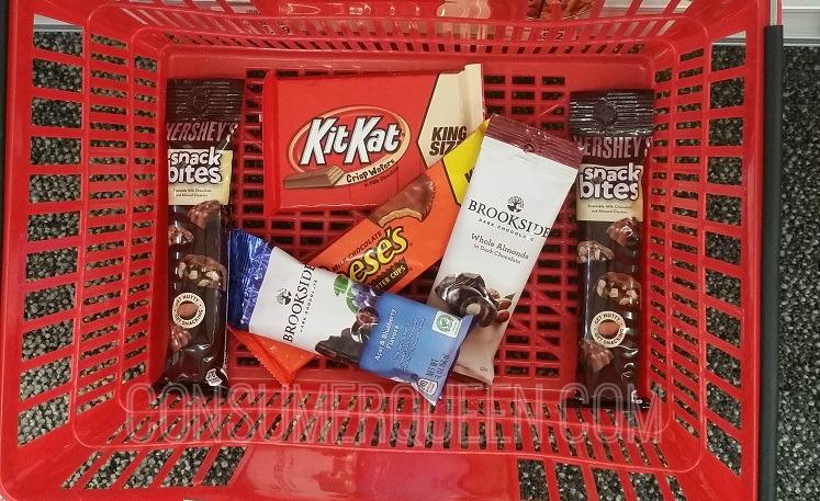 Hershey's Snack Bites, Brookside & More Just 88¢ at CVS