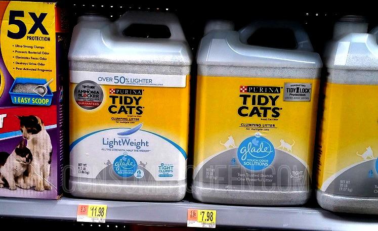 High Value Tidy Cats Litter Coupons + Walmart Matchups