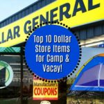 top 10 dollar store items for camp