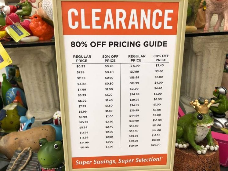 Hobby Lobby S Spring Shop Is 80 Off Get It While You Can