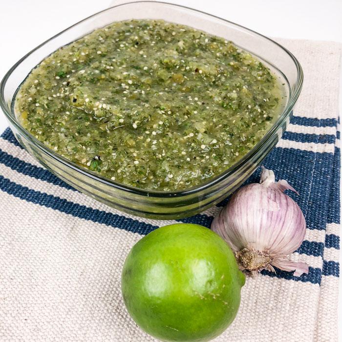 Homemade Tomatillo Sauce Recipe