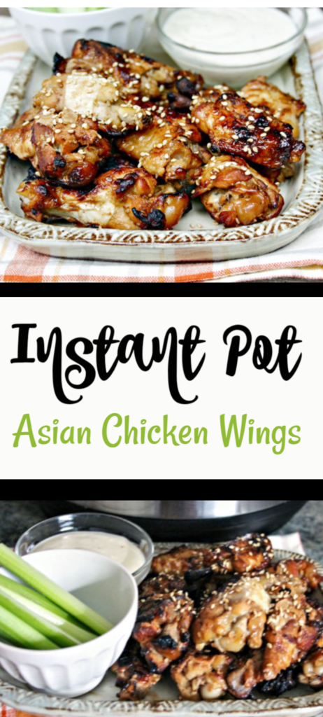 Instant Pot Asian Chicken Wings