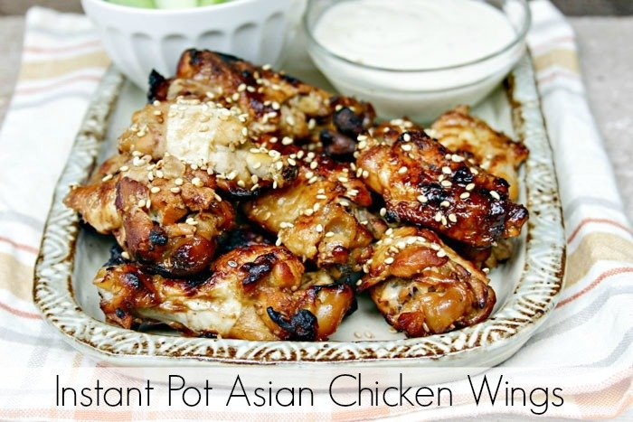 Instant Pot Asian Chicken Wings Recipe Pinterest