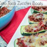 Keto Taco Zucchini Boats Recipe