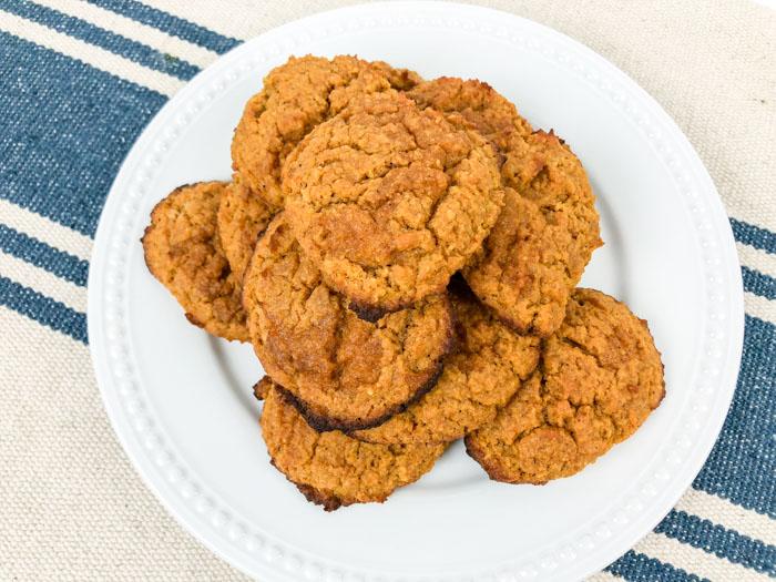 Low Carb Pumpkin Cream Cheese Cookies