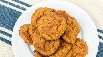 Low Carb Pumpkin Cream Cheese Cookies {Keto Friendly}