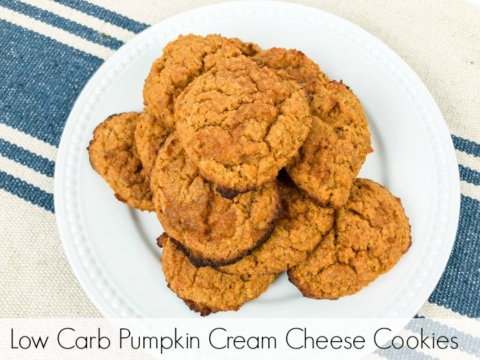 Low Carb Pumpkin Cream Cheese Cookies Pinterest