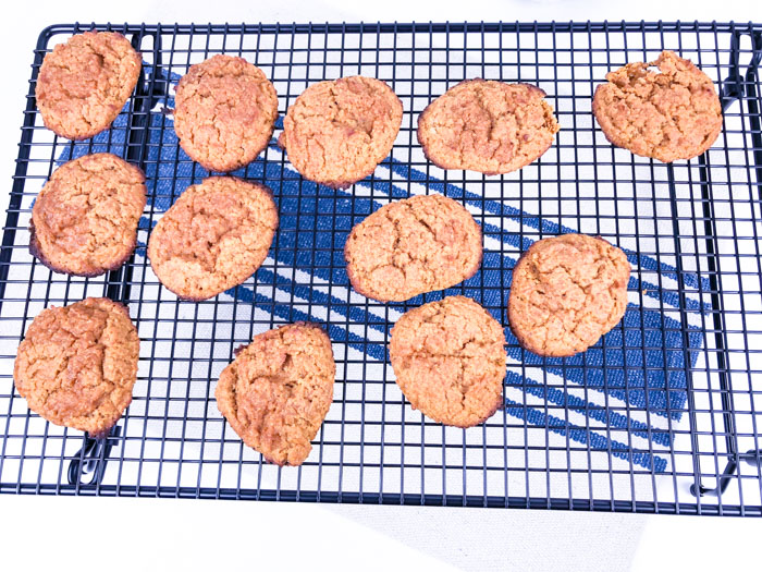 Low Carb Pumpkin Cream Cheese Cookies Rack
