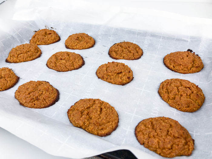 Low Carb Pumpkin Cream Cheese Cookies Tray