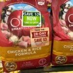 Purina ONE Dog Food $4.00 at Dollar General!