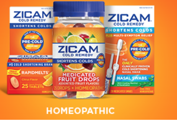Ziacam Cold Remedy Settlement