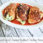 Spinach and cheese stuffed chicken breasts Pinterest