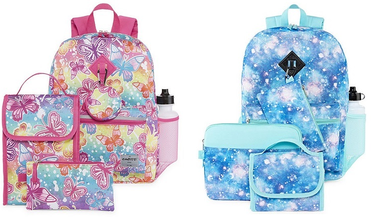 Backpack Sets (6-Piece) Only $18.74 at JCPenney With Promo Code!
