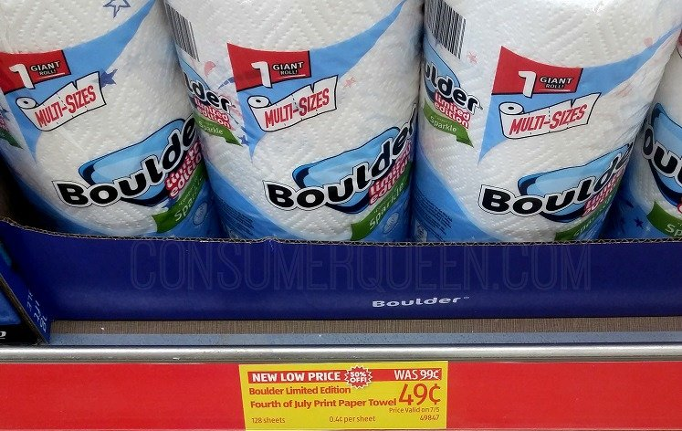 Paper Towel Rolls 49¢, Pool Lounge $6.99 and More at Aldi