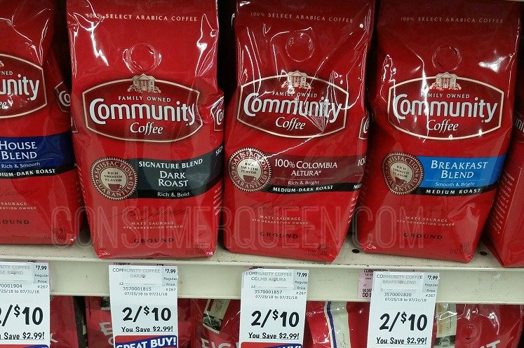 Community Coffee Only $3.00 at Homeland & Country Mart Thru 7/31