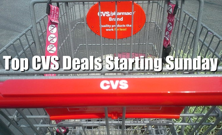 Top 5 CVS Deals Starting This Coming Sunday (July 15th)