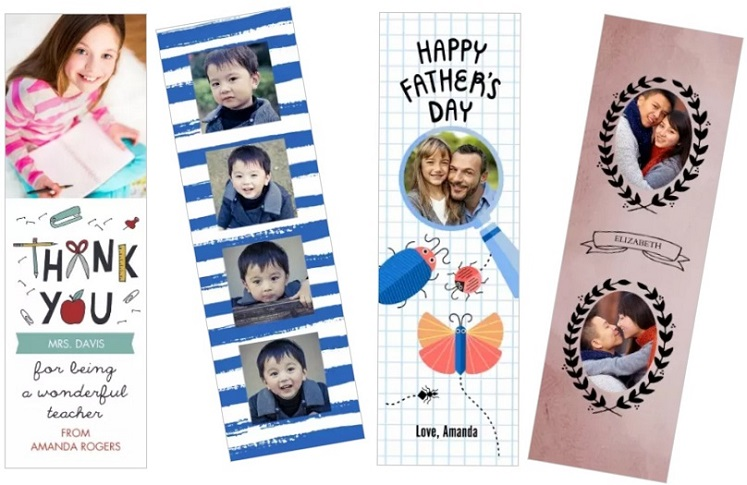 FOUR Free Custom Bookmarks at Walgreens (In-Store Pick-up)