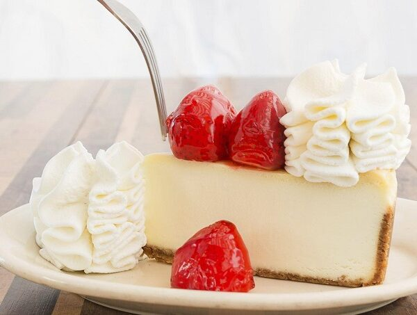 half price cheesecake slices