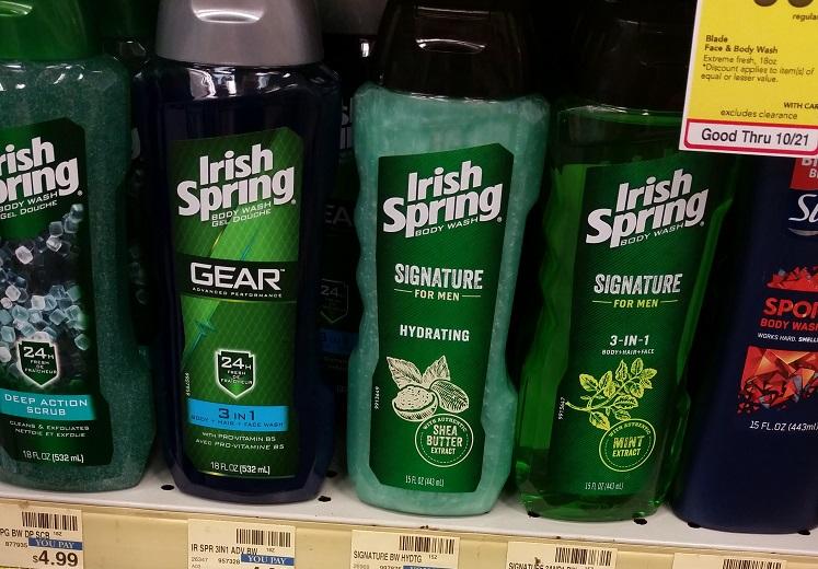 Great Buy on Irish Spring Body Wash at CVS (New Coupon!)