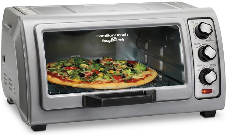 Macy's: Hamilton Beach Easy Reach Toaster Oven $59.99 + Free Shipping!