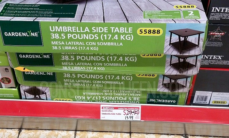 Umbrella Side Tables Insulated Tumblers More This Week