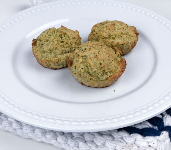 Broccoli Bacon Cheese Muffins {Low Carb/Keto Friendly)