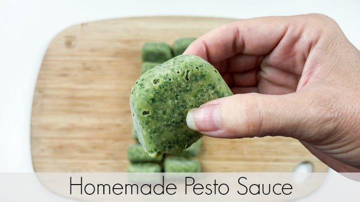 Homemade Pesto Sauce Pinterest