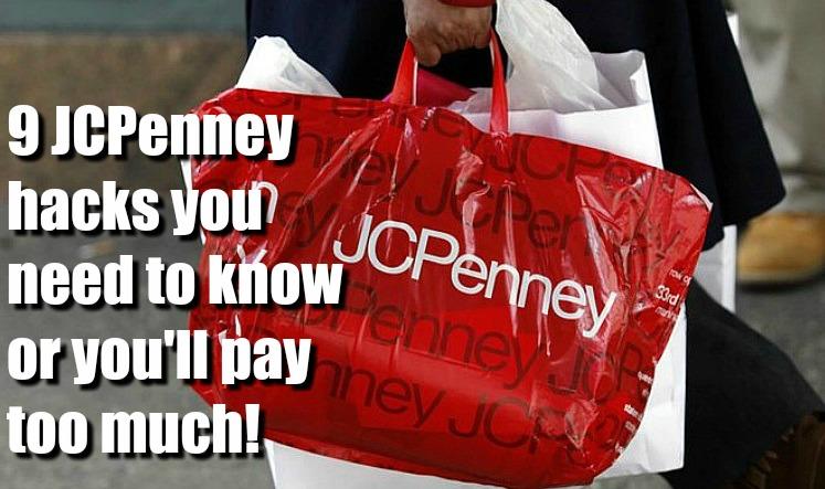 JCPenney Hacks