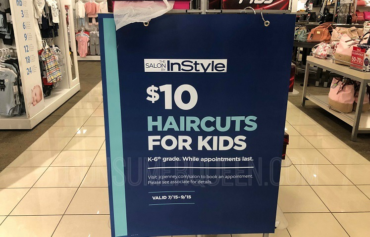 02fde61ee4c Kid's Haircuts $10 at JCPenney Salons - Check Your Location