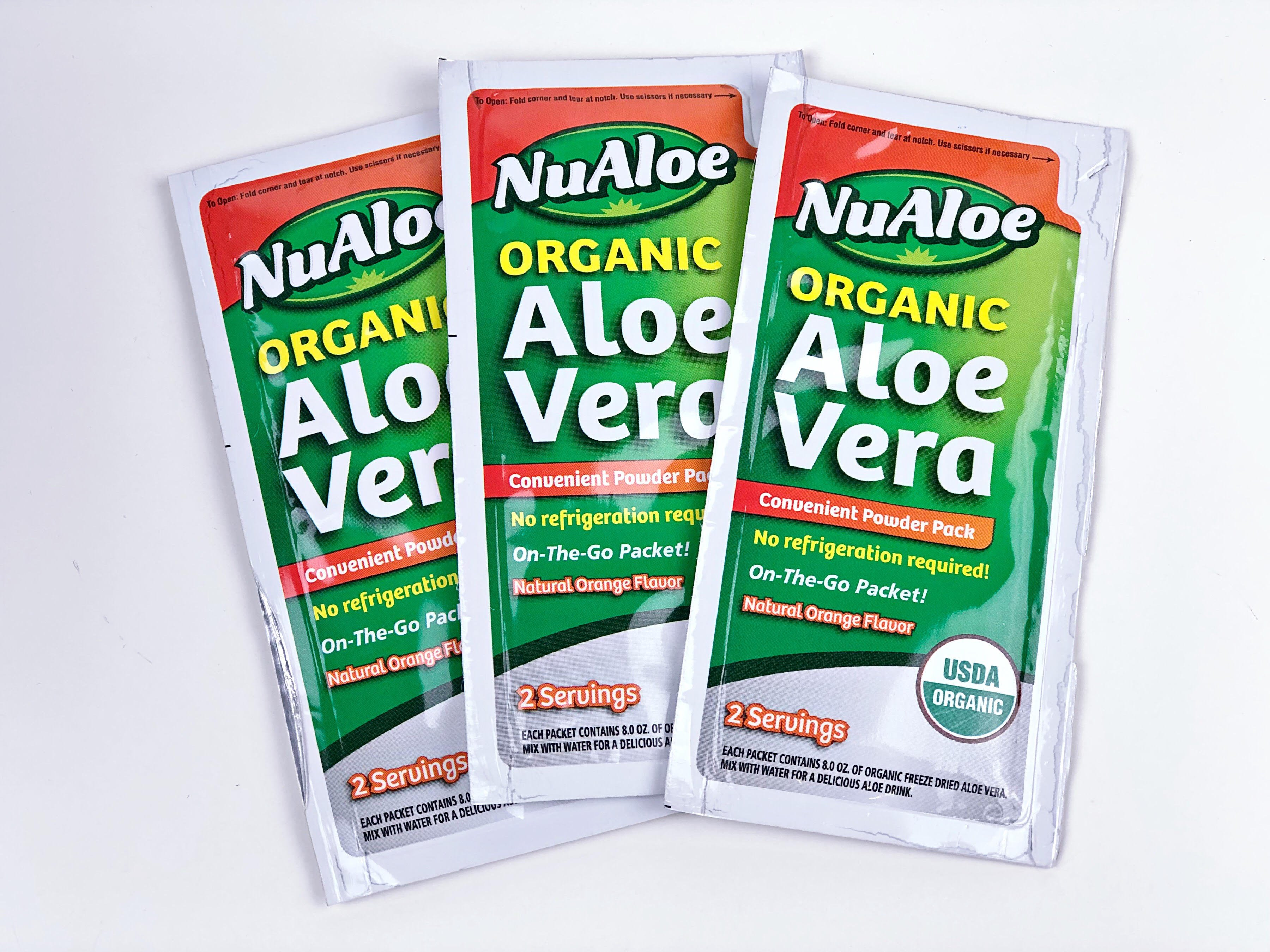 Introducing NuAloe Organic Aloe Drink Packets! Get Your Coupon Here