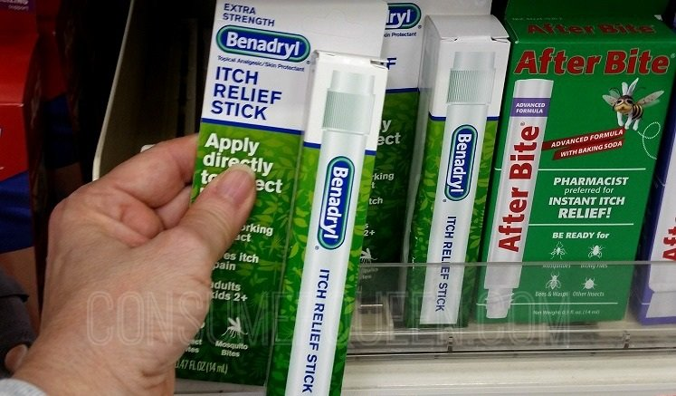 Benadryl Itch Relief Sticks 9¢ Each + 9 Free Customized Magnets at Wags