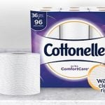 Cottonelle Family Rolls (36-ct) Only $18.79 on Amazon With Subscribe & Save