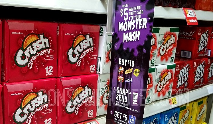 Crush Soda 12-pks Only $1.75 Each at Walmart After eGift Card!