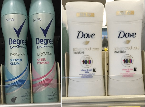 Degree Dry Spray & More Only 77¢ at Walgreens After Rewards!