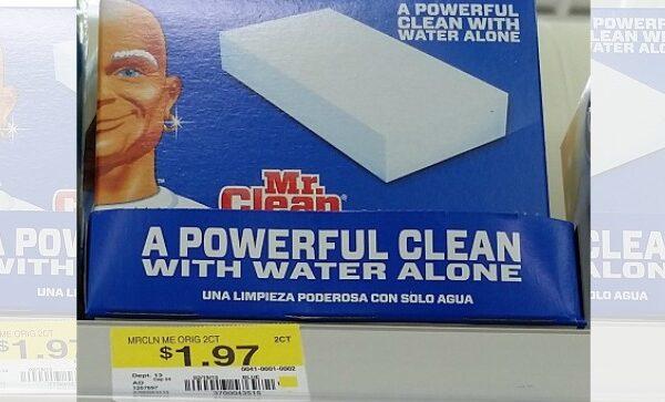 mr clean magic eraser