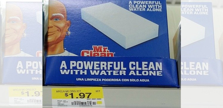 mr clean magic eraser walmart