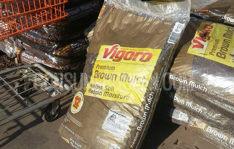 Wood Mulch 2-Cubic Feet Only $2.00 at Lowes and Home Depot