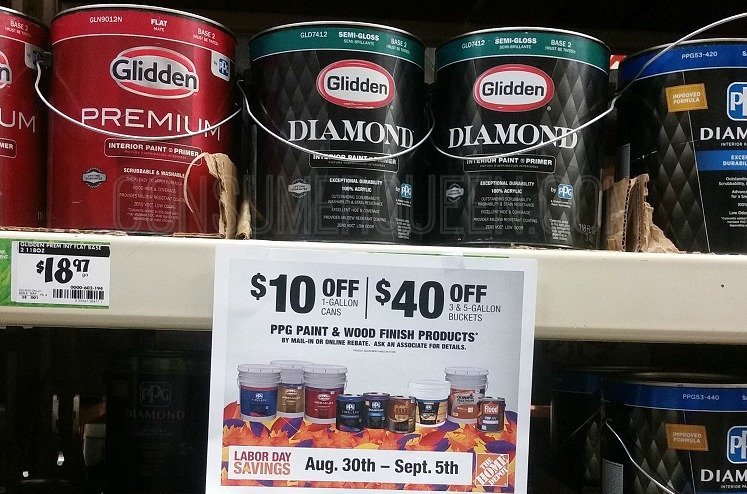 Labor Day Paint Specials Bogo Free Rebates Ace Or Home Depot